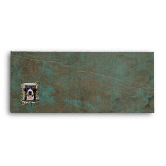 Fathers Day - Stone Paws - Greater Swiss Mountain Envelope