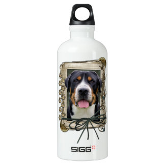 Fathers Day - Stone Paws - Greater Swiss Mountain SIGG Traveler 0.6L Water Bottle