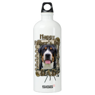 Fathers Day - Stone Paws - Greater Swiss Mountain SIGG Traveler 1.0L Water Bottle