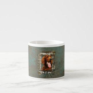 Fathers Day - Stone Paws - Irish Setter Espresso Cup