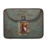 Fathers Day - Stone Paws - Irish Setter Sleeves For MacBook Pro