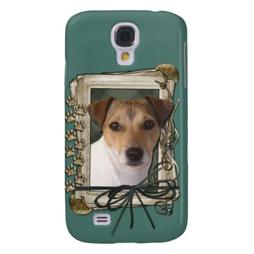 Fathers Day Stone Paws Jack Russell Galaxy S4 Covers