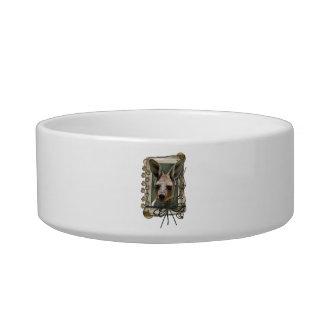Fathers Day - Stone Paws - Kangaroo Pet Bowls