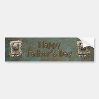 Fathers Day - Stone Paws - Koala Car Bumper Sticker
