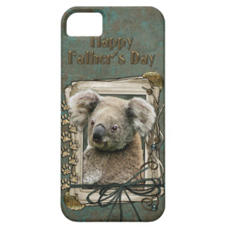 Fathers Day - Stone Paws - Koala iPhone SE/5/5s Case