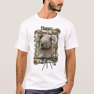 Fathers Day - Stone Paws - Koala T-Shirt