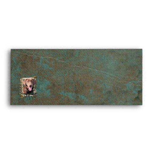 Fathers Day - Stone Paws - Labrador - Chocolate Envelopes