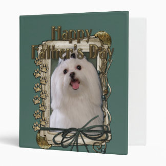 Fathers Day - Stone Paws - Maltese Binder