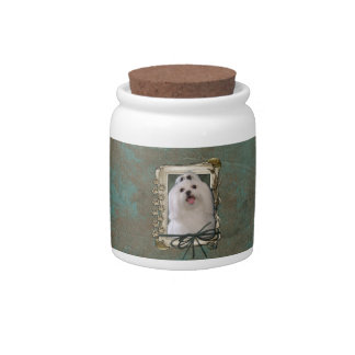Fathers Day - Stone Paws - Maltese Candy Jars