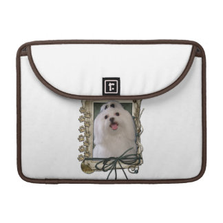 Fathers Day - Stone Paws - Maltese Sleeve For MacBooks