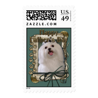 Fathers Day - Stone Paws - Maltese Stamps