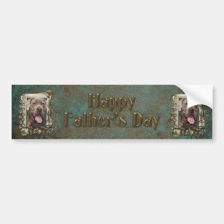 Fathers Day - Stone Paws - Mastiff - Snoop - Dad Bumper Sticker
