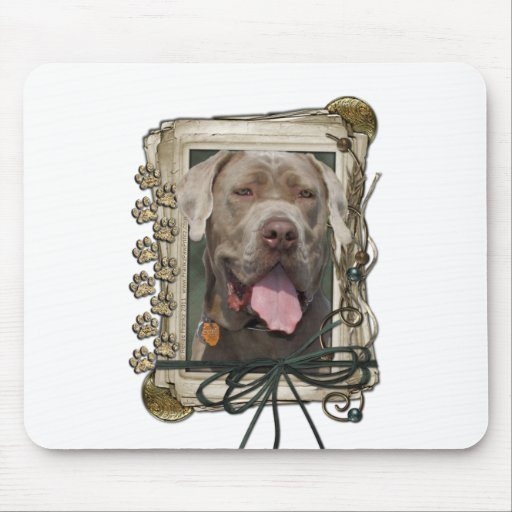 Fathers Day - Stone Paws - Mastiff - Snoop Mouse Pad