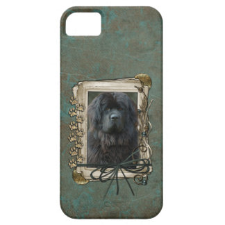 Fathers Day - Stone Paws - Newfoundland iPhone 5 Cases