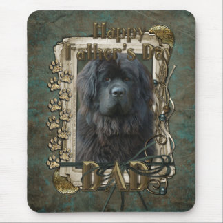Fathers Day - Stone Paws - Newfoundland - Dad Mouse Pad