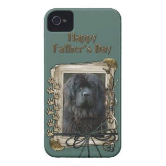 Fathers Day - Stone Paws - Newfoundland iPhone 4 Case