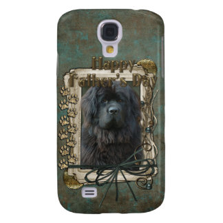 Fathers Day - Stone Paws - Newfoundland Samsung Galaxy S4 Cover