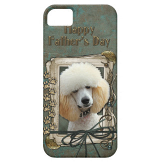 Fathers Day - Stone Paws - Poodle - Apricot iPhone SE/5/5s Case