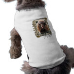 Fathers Day - Stone Paws - Poodle - Chocolate Pet Tee