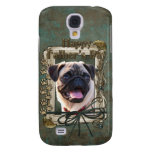 Fathers Day - Stone Paws - Pug Samsung Galaxy S4 Cases