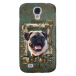 Fathers Day - Stone Paws - Pug - Dad Samsung Galaxy S4 Cases