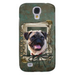 Fathers Day - Stone Paws - Pug Galaxy S4 Cover