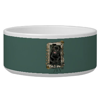 Fathers Day - Stone Paws - Pug - Ruffy Bowl