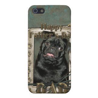 Fathers Day - Stone Paws - Pug - Ruffy - Dad Case For iPhone 5/5S