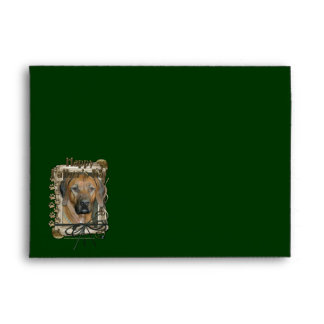 Fathers Day - Stone Paws - Rhodesian Ridgeback Envelope