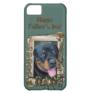 Fathers Day - Stone Paws - Rottweiler - Harley iPhone 5C Covers