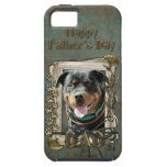 Fathers Day - Stone Paws - Rottweiler - SambaParTi iPhone 5 Cover