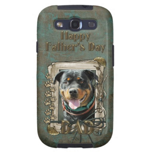 Fathers Day - Stone Paws - Rottweiler - SambaParTi Galaxy SIII Cases