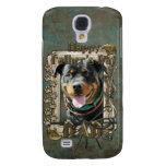 Fathers Day - Stone Paws Rottweiler SambaParTi Dad Samsung Galaxy S4 Cover