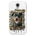 Fathers Day - Stone Paws Rottweiler SambaParTi Dad Galaxy S4 Cases
