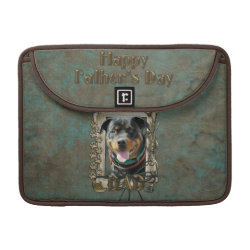 Macbook Pro 13' Flap Sleeve with Rottweiler Phone Cases design