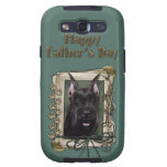 Fathers Day - Stone Paws - Schnauzer Samsung Galaxy S3 Cases