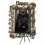 Fathers Day - Stone Paws - Schnauzer Cut Outs