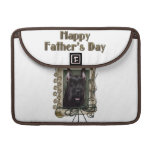 Fathers Day - Stone Paws - Schnauzer MacBook Pro Sleeve