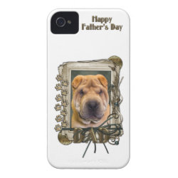 Case-Mate iPhone 4 Barely There Universal Case with Shar-Pei Phone Cases design