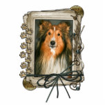 Fathers Day - Stone Paws - Sheltie Photo Cut Outs