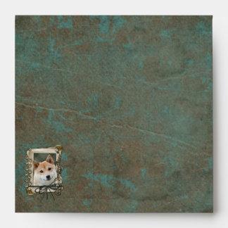 Fathers Day - Stone Paws - Shiba Inu Envelope