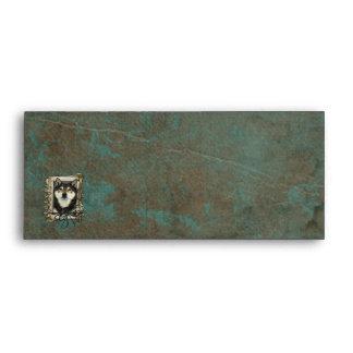 Fathers Day - Stone Paws - Shiba Inu - Yasha Envelope