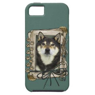 Fathers Day - Stone Paws - Shiba Inu - Yasha iPhone SE/5/5s Case