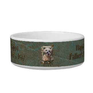 Fathers Day - Stone Paws - ShihPoo - Maggie Bowl
