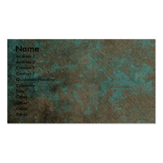 Fathers Day - Stone Paws - Siberian Husky - Copper Business Card Template