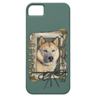 Fathers Day - Stone Paws - Siberian Husky - Copper iPhone SE/5/5s Case
