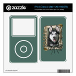 Fathers Day - Stone Paws - Siberian Husky Decal For The iPod
