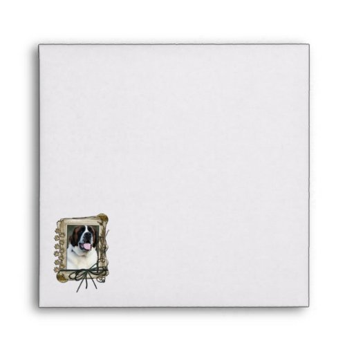 Fathers Day - Stone Paws - St Bernard - Mae Envelope