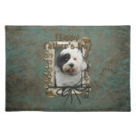 Fathers Day - Stone Paws - Tibetan Terrier Place Mat