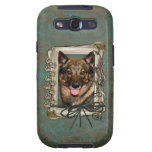 Fathers Day - Stone Paws - Vallhund Galaxy SIII Cases